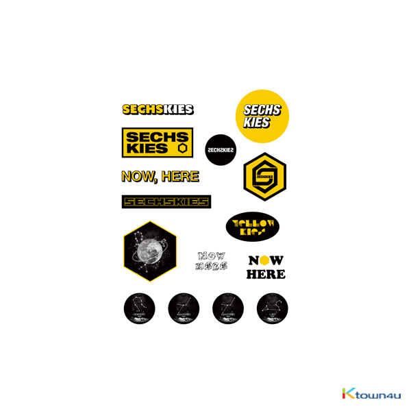[N.H.A] SECHSKIES - NOW HERE AGAIN STICKER SET