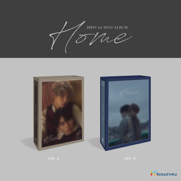 [SET][2CD SET] JBJ95 - Mini Album Vol.1 [Home] (A Ver. + B Ver.)