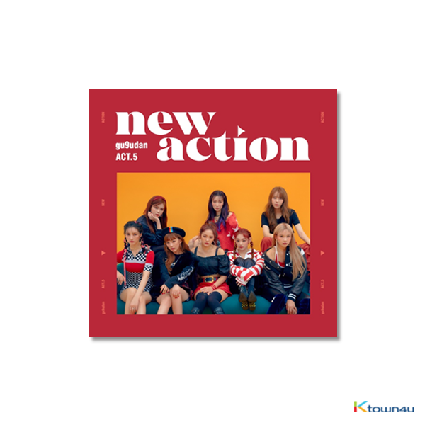 Gugudan - Mini Album Vol.3 [Act.5 New Action]