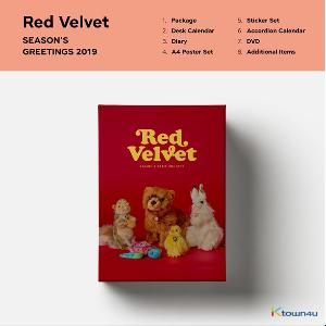 Red Velvet - 2019 SEASON'S GREETINGS (Only Ktown4u's Special Gift : Big Postcard 115*170 Size 1pc ~until sold out)