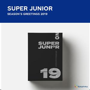 Super Junior - 2019 SEASON'S GREETINGS (Only Ktown4u's Special Gift : Big Postcard 115*170 Size 1pc)