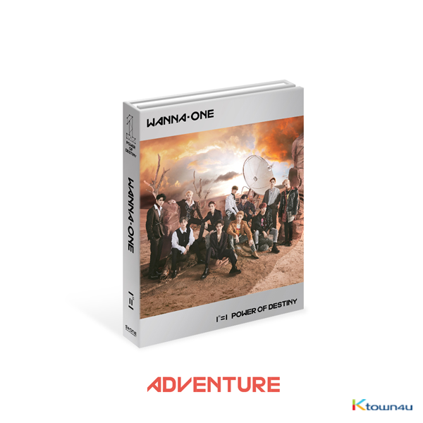 WANNA ONE - Album Vol.1 [1¹¹=1 (POWER OF DESTINY)] (Adventure Ver.)
