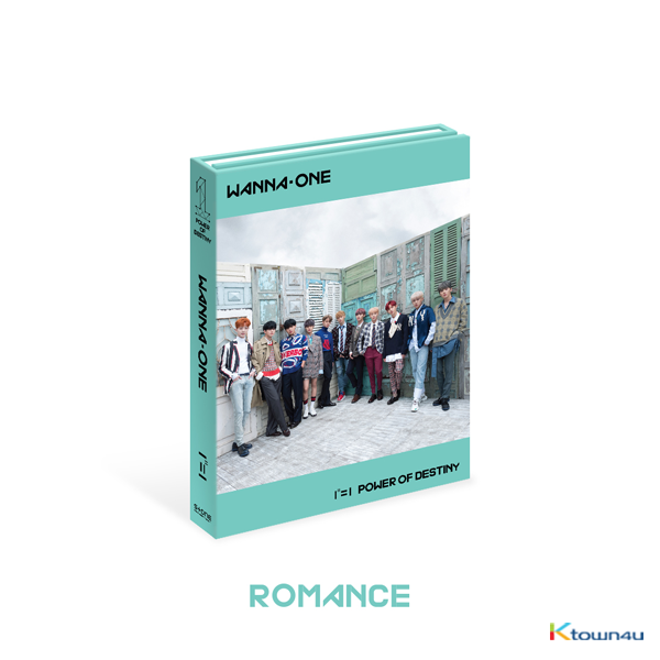 WANNA ONE - Album Vol.1 [1¹¹=1 (POWER OF DESTINY)] (Romance Ver.)