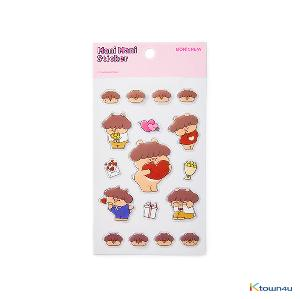 [BONICREW] My Secret Terrius So Ji Sub - Mani Love Sticker (Pink)