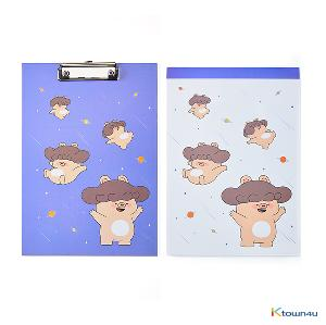 [BONICREW] My Secret Terrius So Ji Sub - Mani Clipboard + Memopad Set (Lavender)