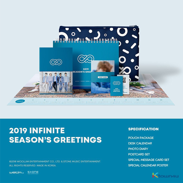INFINITE - 2019 SEASON'S GREETINGS