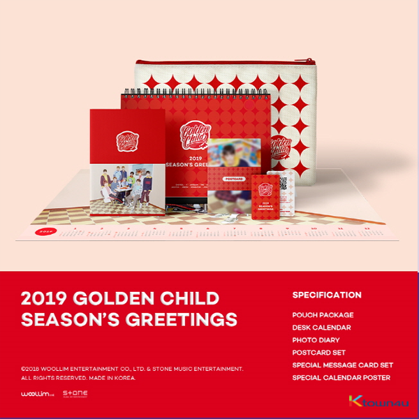 Golden Child - 2019 SEASON'S GREETINGS