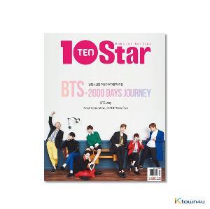 10+STAR 10th Anniversary special issue (Cover : BTS)