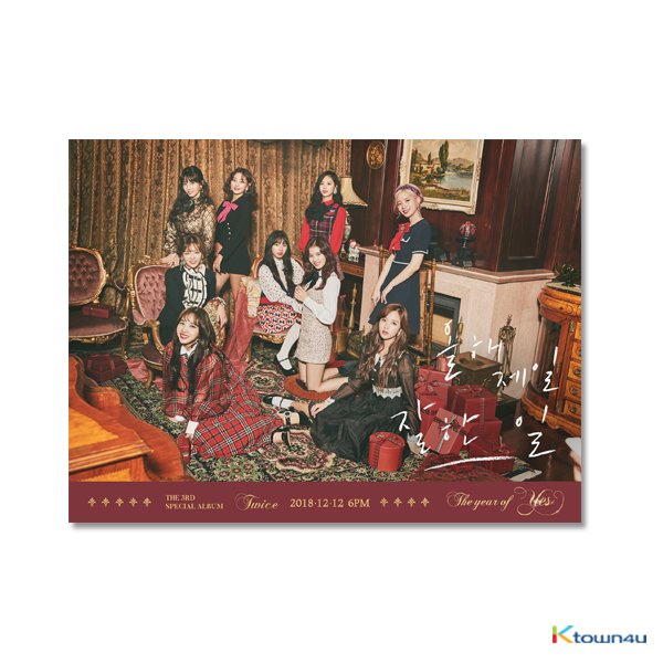 TWICE - Special Album Vol.3 [The year of Yes]