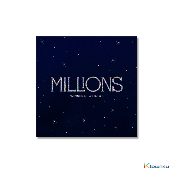 WINNER - New Single Album [MILLIONS] (WHITE LIGHT Ver.)