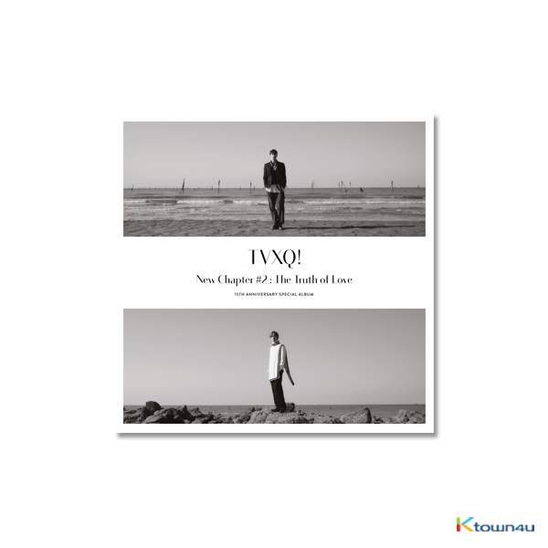 TVXQ! - Debut 15th Anniversary Album [New Chapter #2: The Truth of Love] (Random Ver.)