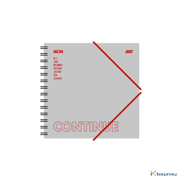iKON - CONTINUE ENCORE NOTEBOOK