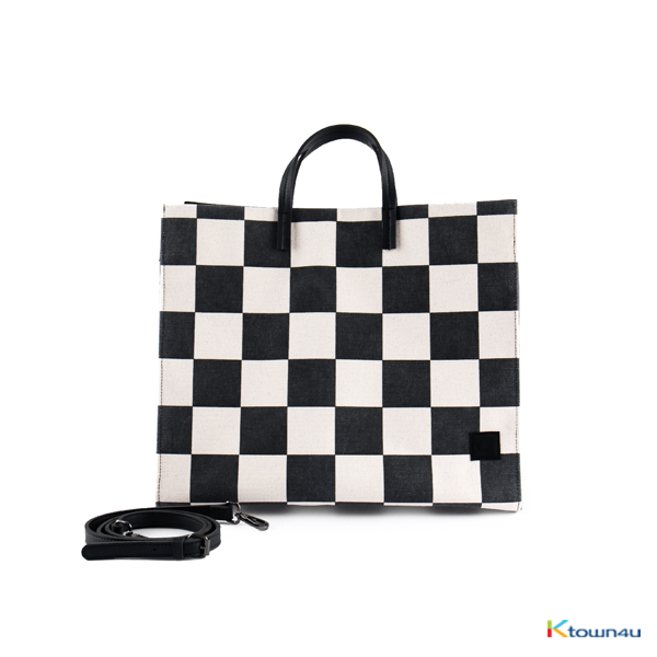 WINNER - EVERYENCORE CHECKERBOARD BIG TOTE BAG