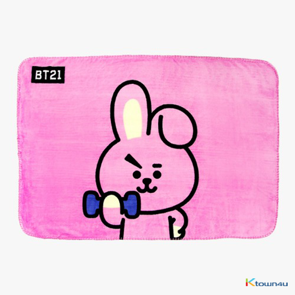 [BT21] BLANKET : COOKY (*Order can be canceled cause of early out of stock)