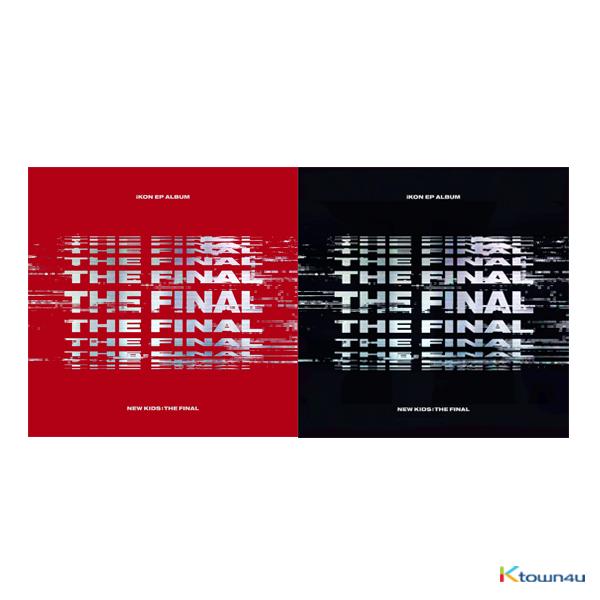 iKON - EP Album [NEW KIDS : THE FINAL] (Random Ver.)