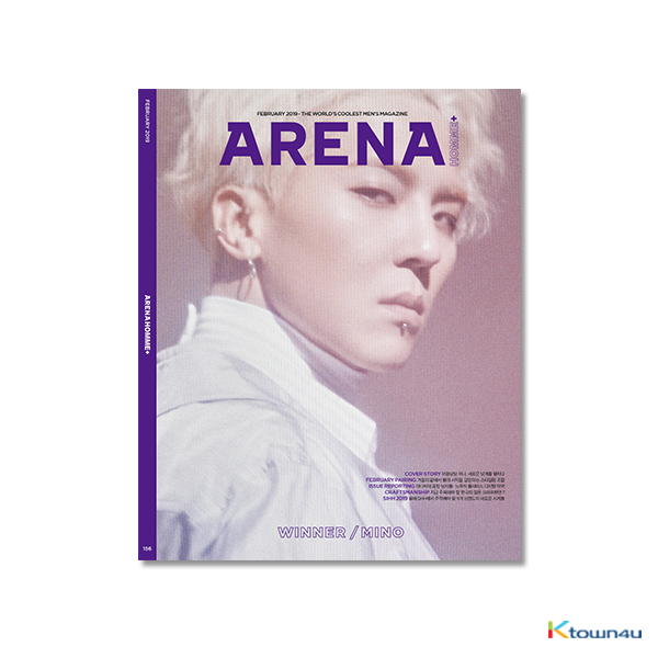 ARENA HOMME+ 2019.02 A Type (WINNER : MINO)