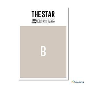 THE STAR 2019.02 B Type (WANNA ONE : HA SUNG WOON, GOT7 : MARK, SEVENTEEN, CHUNG HA) *Bromide Gift