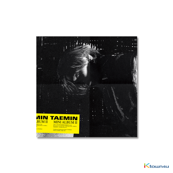 SHINEE : TAEMIN - Mini Album Vol.2 [WANT] (Random ver) (KIHNO Album) *Due to the built-in battery of the Khino album, only 1 item could be ordered and shipped at a time.