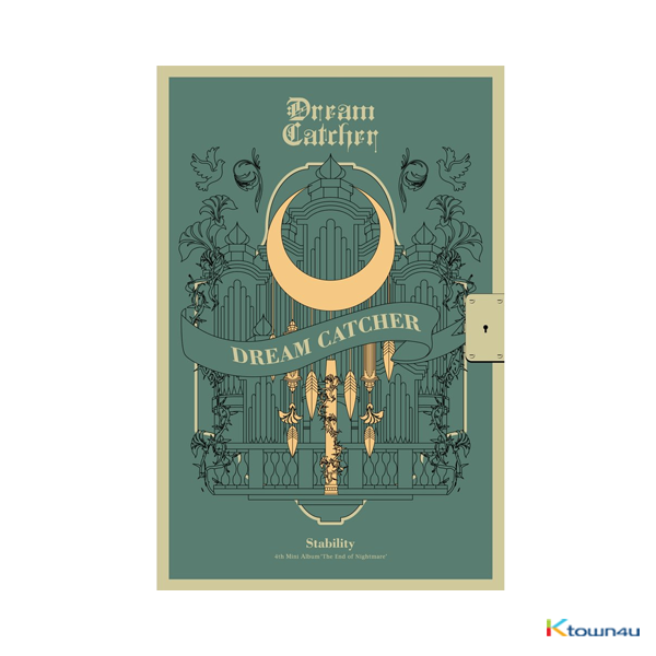 DREAMCATCHER - Mini Album Vol.4 [The End of Nightmare] (Stability Ver.) (Only Ktown4u's Special Gift: Big Postcard 115*170mm 1EA ~until sold out)