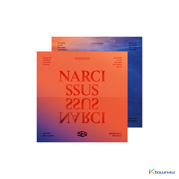 SF9 - Mini Album Vol.6 [NARCISSUS] (Random Ver.) *Different versions will be sent in case of purchasing 2 or more
