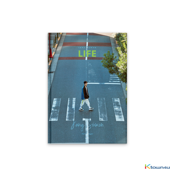 [Photobook&DVD] SECHSKIES : JANG SUWON - [LIFE] JANG SUWON THE 1st PHOTOBOOK (Green Ver.)