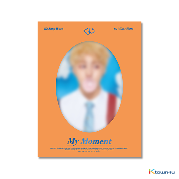 Ha Sung Woon - Mini Album Vol.1 [My Moment] (Dream Ver.)