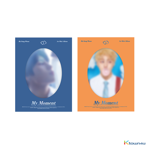 [SET][2CD SET] Ha Sung Woon - Mini Album Vol.1 [My Moment] (Daily Ver. + Dream Ver.)