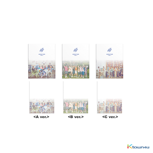 STRAY KIDS - BOX STICKER MEMO [UNVEIL TOUR : I am]