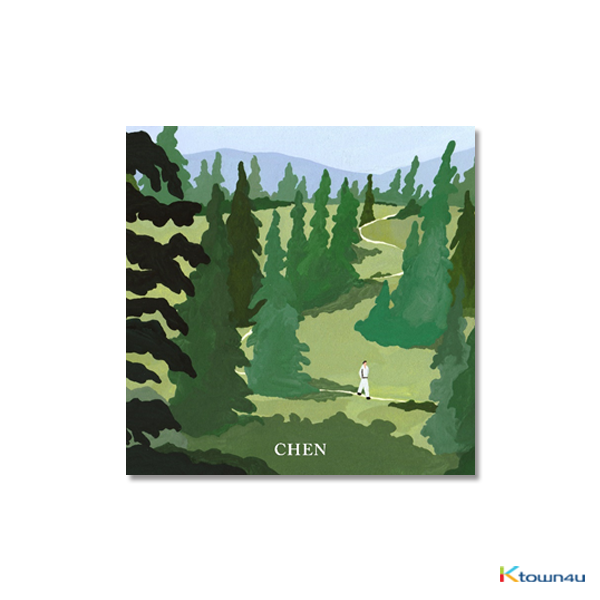 EXO : CHEN - Mini Album Vol.1 [April, and a flower] (Kihno Album) *Due to the built-in battery of the Khino album, only 1 item could be ordered and shipped at a time.