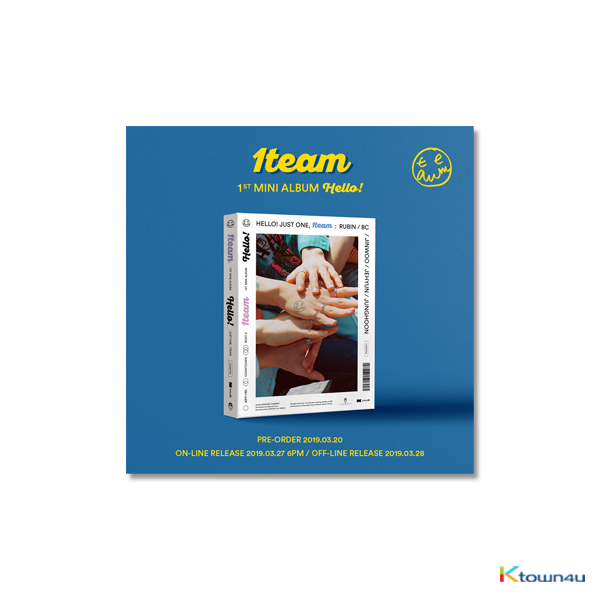 1TEAM - Mini Album Vol.1 [HELLO!]