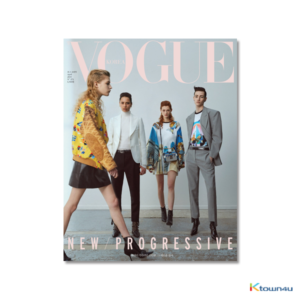 VOGUE 2019.04 A Type (SHINEE : TAEMIN, RED VELVET : IRENE, Jus2)