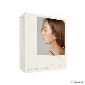 Girls' Generation : TaeYeon - [s…TAEYEON CONCERT] Kihno Video (Due to the built-in battery of the Khino album, only 1 item could be ordered and shipped at a time.)