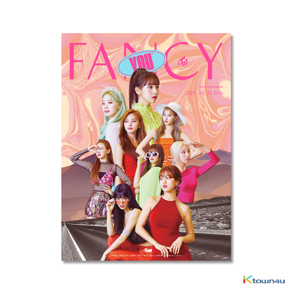 TWICE - Mini Album Vol.7 [FANCY YOU] (Random Ver.) *Different versions will be sent in case of purchasing 3 or more
