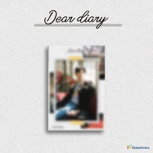 Yoon Ji sung - Special Album [Dear diary] (Kihno Album) *Due to the built-in battery of the Khino album, only 1 item could be ordered and shipped at a time.