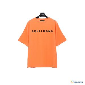 [SKULLHONG] Logo T-Shirt Orange [19SS]
