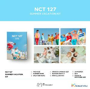 NCT 127 - 2019 NCT 127 SUMMER VACATION KIT *Pre-order period from April 26 to May 7 at 24:00 (Ktown4u Preorder benefit : Big Postcard 1p gift)