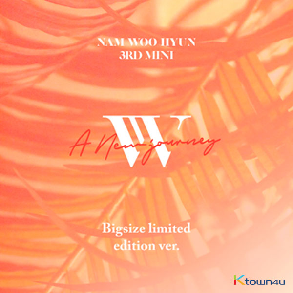 Nam Woo Hyun - Mini Album Vol.3 [A New Journey] (Big size limited edition Ver.) (It cannot be shipped out by Small registered packet & K-packet)