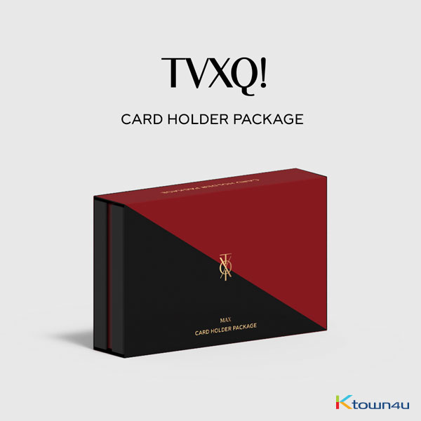 TVXQ! - Card Wallet Pakcage Limtted Edition (Max Chang Min Ver.)