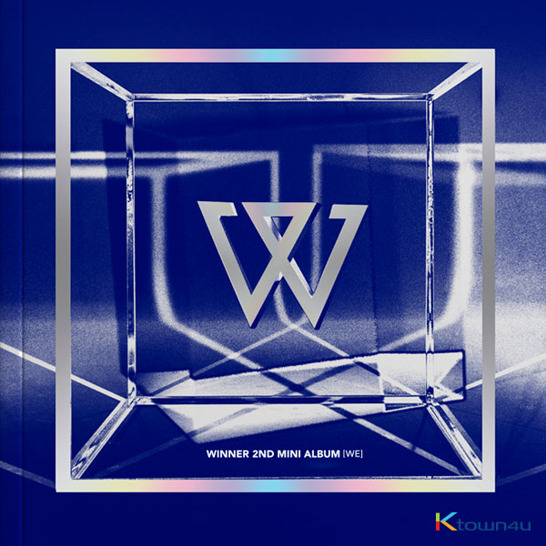 WINNER - Mini Album Vol.2 [WE] (BLUE Ver.) *Ktown4u Preorder benefit : Big Postcard 115*170mm 2p gift