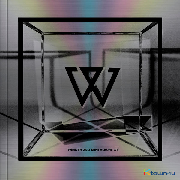 WINNER - Mini Album Vol.2 [WE] (SILVER Ver.) *Ktown4u Preorder benefit : Big Postcard 115*170mm 2p gift