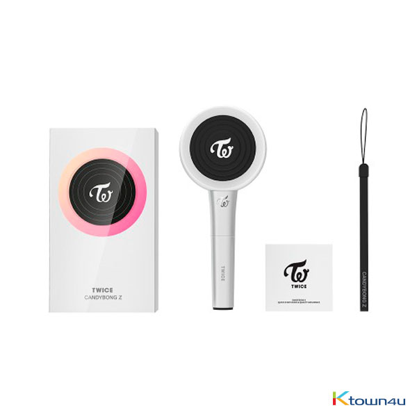 TWICE - OFFICIAL LIGHT STICK [CANDY BONG Z] (Not included photocard) (*Order can be canceled cause of early out of stock)