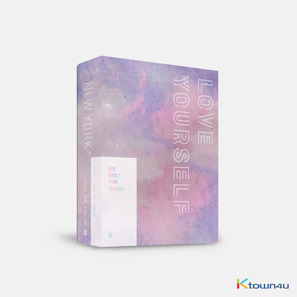 [DVD] BTS - BTS WORLD TOUR 'LOVE YOURSELF' NEWYORK DVD