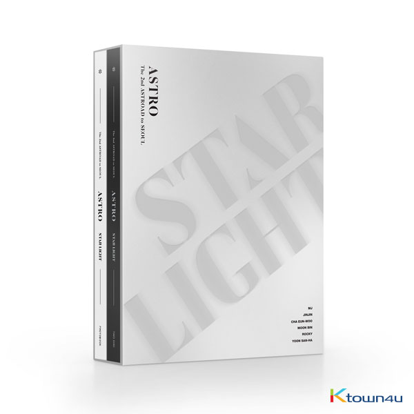 [DVD] ASTRO - ASTRO The 2nd ASTROAD to Seoul [STAR LIGHT] DVD *Member's signature DVD will be randomly shipped out for the pre-orders only.