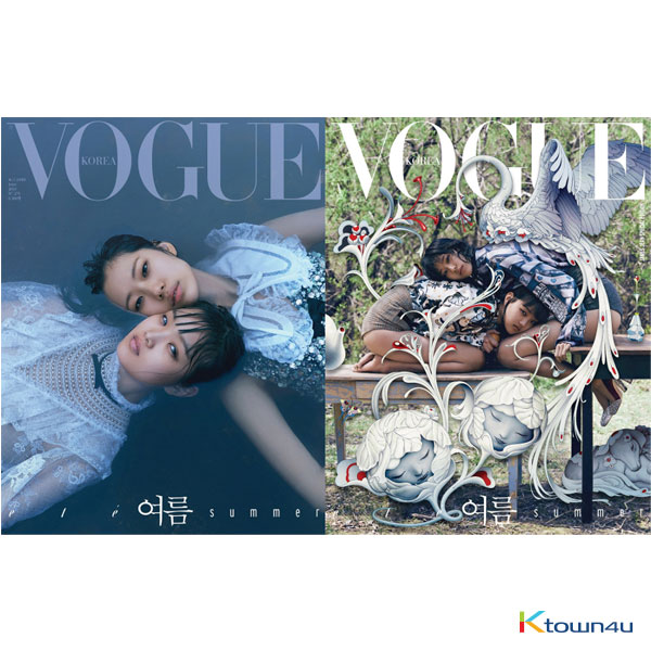 VOGUE 2019.06 (iKON) *Cover Random 1p out of 2p