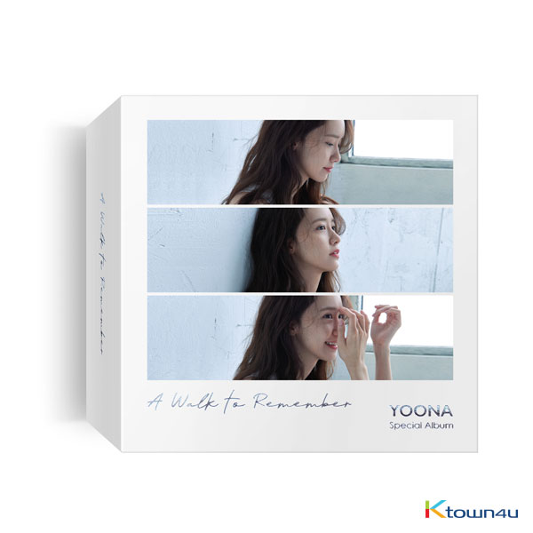 YOONA - Special Album [A walk to remember] (Kihno Album) *Due to the built-in battery inside, only 1 item can be shipped per package