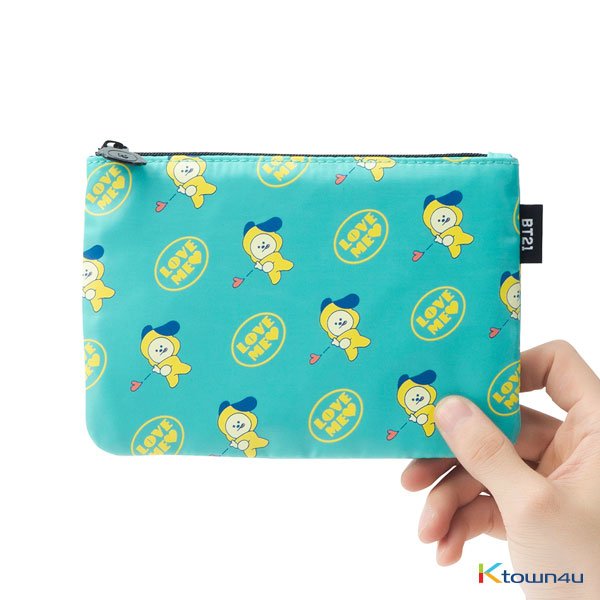 [BT21] CHIMMY Pattern Multi Pouch