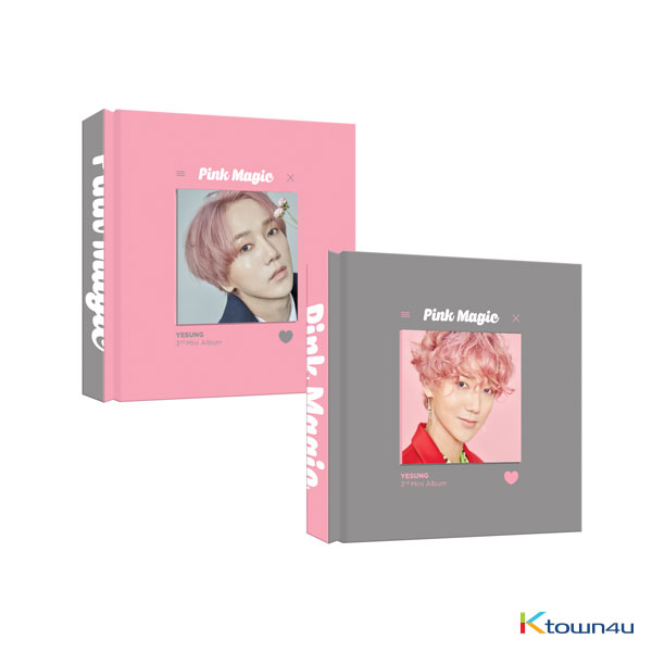YESUNG - Mini Album Vol.3 [Pink Magic] (Random Ver.)