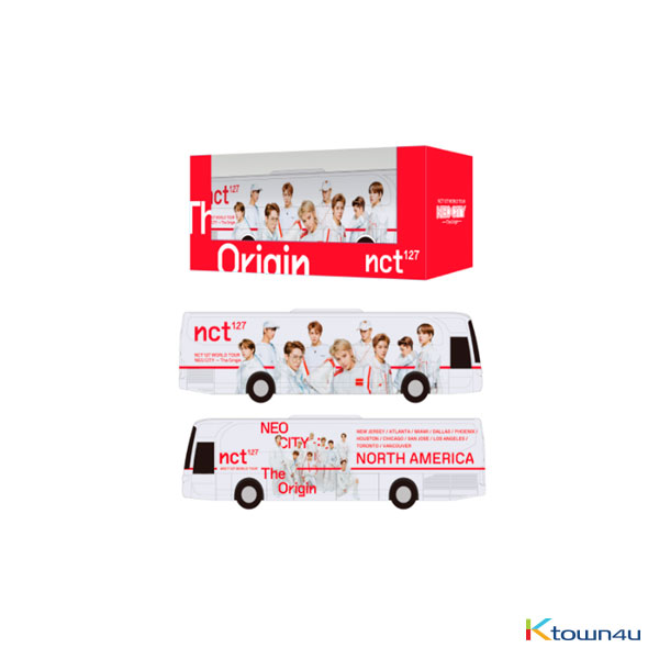NCT 127 - NCT 127 MINIATURE NEO CITY TOUR BUS