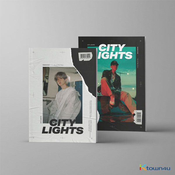 BAEK HYUN - Mini Album Vol.1 [City Lights] (Random Ver.)
