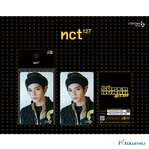 NCT 127 - Traffic Card (TaeYong) *There may be primary and secondary shipments for this item according to the order of payment.